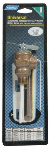 Camco 10421 Temperature Pressure Valve