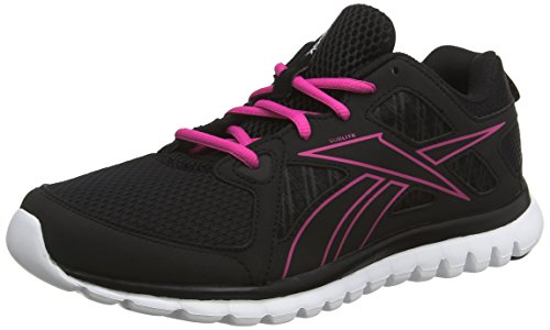 Reebok Sublite Escape MT - zapatillas de running de material sintético mujer negro - Schwarz (Black/Charged Pink/White)
