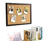 Gideal Notice Board Cork Notice Board 36'' x 24 ''Cork Bulletin Board BB2