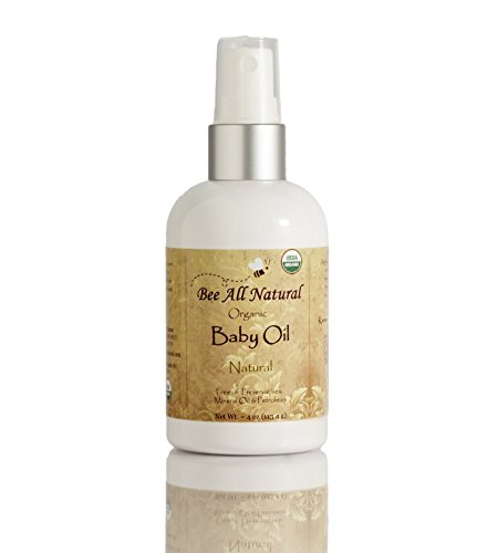 Bee All Natural Organic Baby Oil, 4-Ounce Bottle by Bee All Natural
