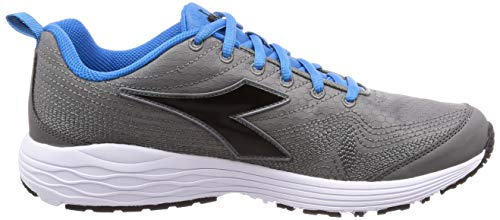 Gris 2 Diadora C2539 Homme Flamingo De Running grigio nero Chaussures pYURY