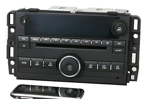1 Factory Radio AM FM CD w Bluetooth Radio Compatible with 2007-13 Chevy GMC Truck Van 25941137 ()