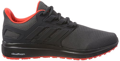 adidas Energy Cloud 2 W, Zapatillas de Running Para Mujer Gris (Carbon S18/carbon S18/hi-res Red S18 001)