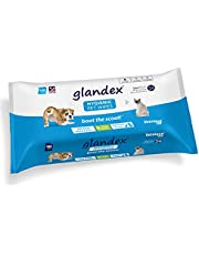 Glandex Dog, Cat & Pet Wipes Cleansing & Deodorizing Hygienic Anal Gland Grooming Wipes - by Vetnique Labs