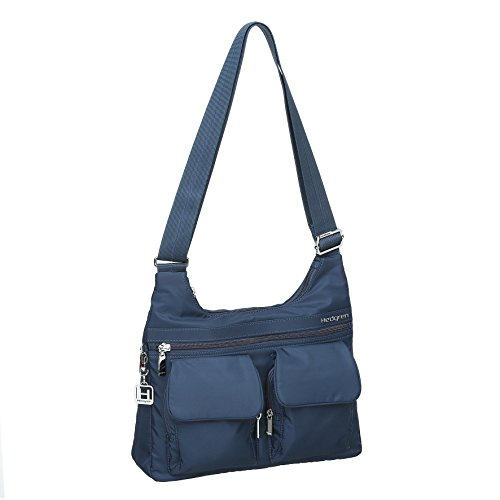 Tote Sepia 2 5 Shoulder Dress Organization Large Crossbody Brown 7 x Panel 2 City Bag 8 Inner Blue Prarie Inches x 6 Women's Hedgren IHW4qwf4
