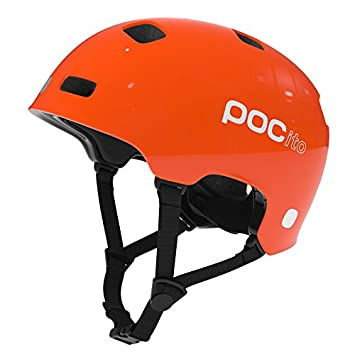 POC Crane Casco, Unisex Adulto, pocito Orange, XS-S/51-