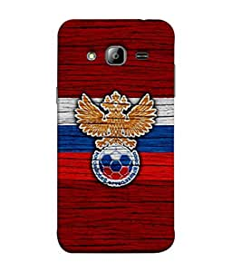 ColorKing Football Russia 17 Red shell case cover for Samsung On7