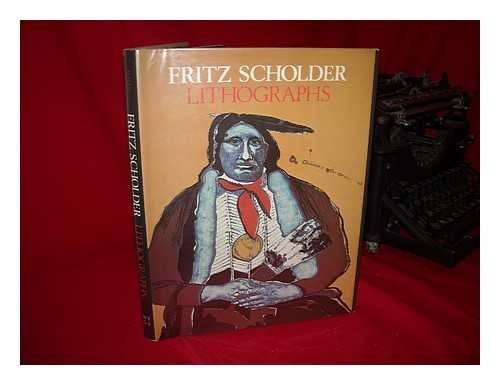 Native American Lithographs - Fritz Scholder Lithographs