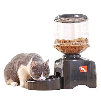 NTS 5,5 L Alimentador automático para Mascotas de Viaje, alimentador automático para Perros y Gatos: Amazon.es: Productos para mascotas