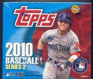 2010 Topps Series 2 Baseball Cards Jumbo Hobby Box (10 pa...