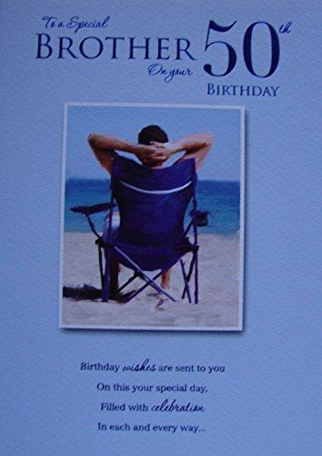 Amazon Brother 50th Birthday Birthday Card By Icg Cards