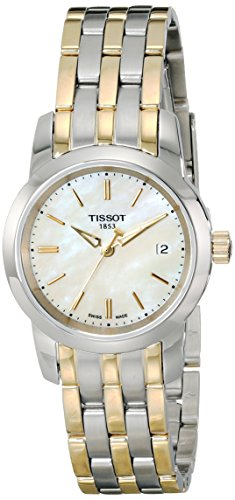 Tissot Women's T0332102211100 Analog Display Quartz Two Tone Watch