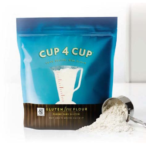 Cup 4 Cup - All Purpose Gluten Free Flour - 25 Lb Bag by Cup 4 Cup