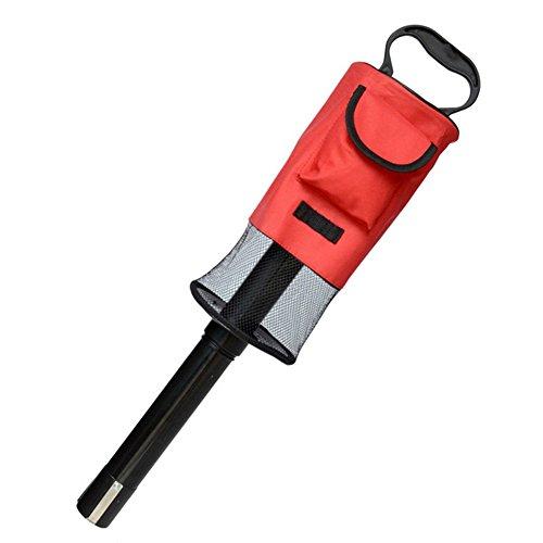 windowew Golf Ball Picker Removable Ball Picker ball retriever pole Pick-Ups Retrievers Pocket Storage