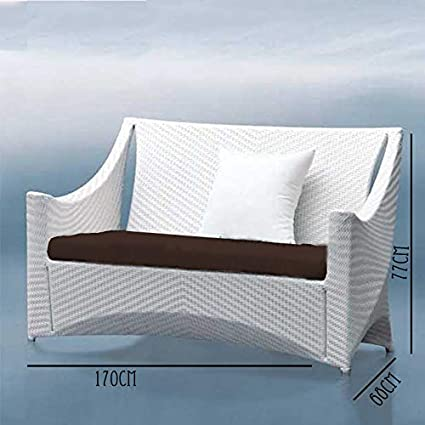 Universal Furniture White Color 3 Seater Patio Outdoor