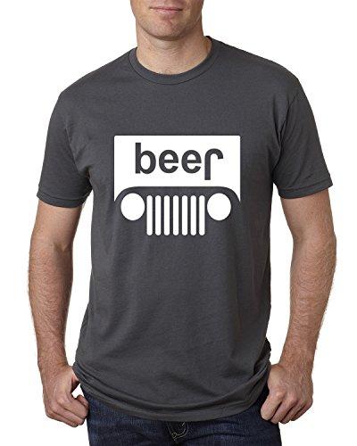 Wild Bobby Beer Logo | Cars and Trucks Parody Humor Alcohol | Mens Drinking Tee Graphic T-Shirt, Charcoal White, Medium ()