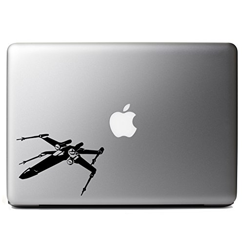 Star Wars Inspired X-Wing Silhouette Vinyl Sticker Laptop iPhone Cell Decal