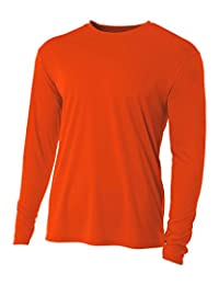1b02a8b50ba6 A4 Men's Cooling Performance Crew Long Sleeve Tee