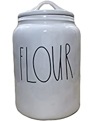 Rae Dunn Magenta Ceramic Flour Canister