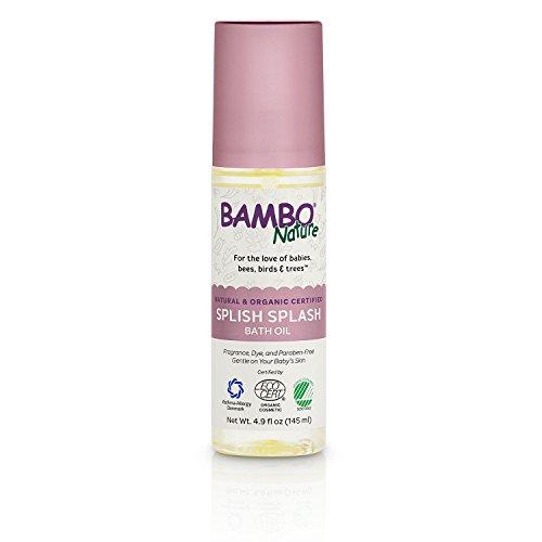Bambo Nature Splish Splash Bath Oil, 4.9 fl oz (Splish Splash Bath)