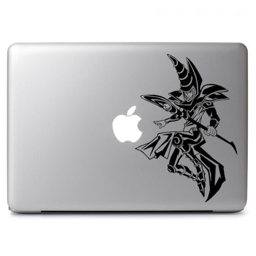 Price comparison product image Yu Gi Oh Dark Magician Vinyl Sticker Skin Decal, Die cut vinyl decal for windows, cars, trucks, tool boxes, laptops, MacBook - virtually any hard, smooth surface