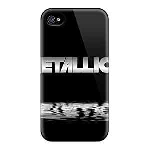 For Ipod Touch 5 Case Cover Well-designed Hard Metallica Protector