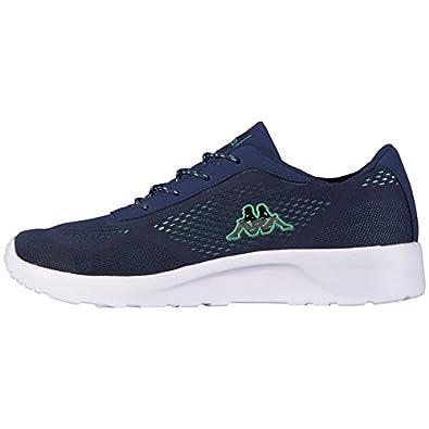 Kappa Delhi Footwear Unisex, Mesh, Damen Sneakers, Blau (6737 Navy/Mint), 39 EU (6 Damen UK)