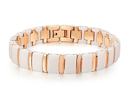 Brand New Lady's Tungsten Carbide Fashion Bracelet Simple Style in a Gift Box, Anti-fatigue, Pain-relief