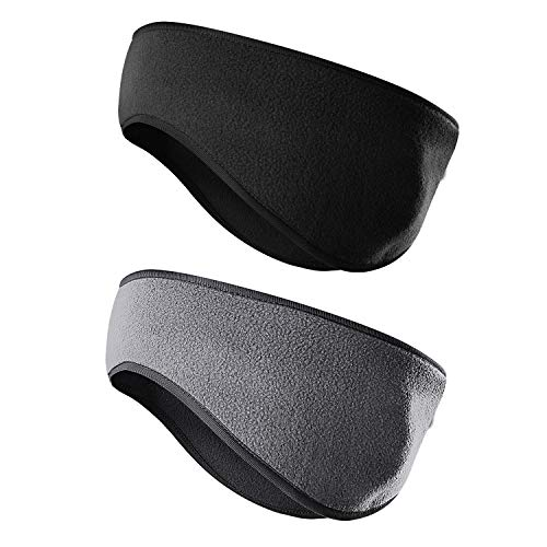 JOEYOUNG Fleece Ear Warmers/Muffs Headband for Men & Women Kids Perfect for Winter Running Yoga Skiing Work Out Riding Bike in Cold and Freezing Days -