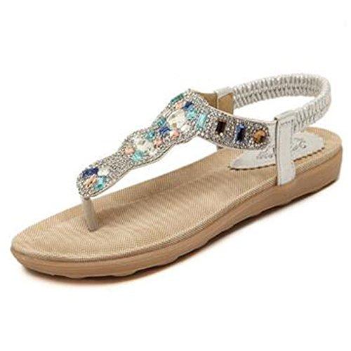 SUNAVY - Zapatos de tacón  Mujer plata