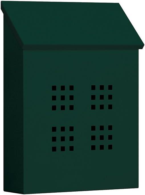 B0002EWC6Y Salsbury Industries 4625GRN Traditional Mailbox Decorative Vertical Style, Green 41VBK56Ft7L