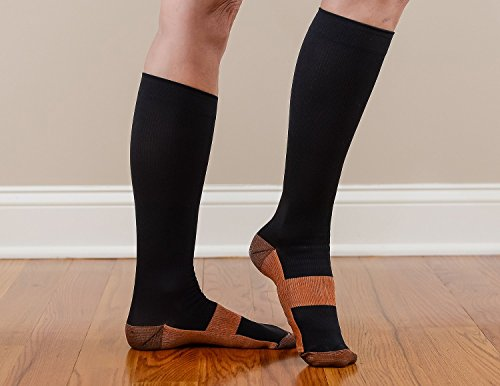 Foot Dr Everyday Compression Copper Infused Energize Sock...