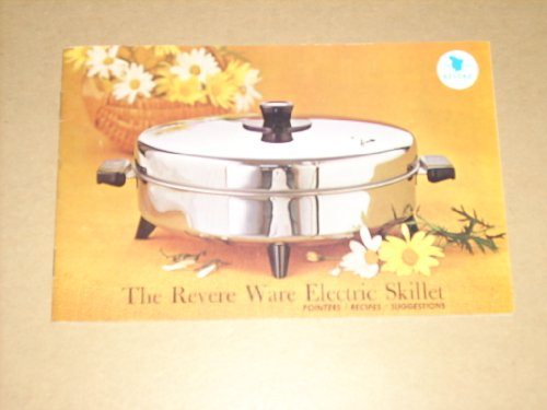Vintage 'The Revere Ware Electric Skillet' Brochure (Pointers/Recipes/Suggestions) #RE5008 ()