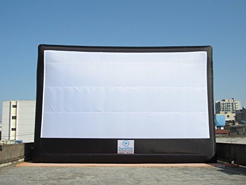 40ft X 20ft (Viewing Area). Free / ($5), 1-week global shipping standard, 3-day expedited availabl. Dedicated Customer Service. Giant Inflatable Screen with Blower, Accessories Front & rear - Screen Rear Standard Projection