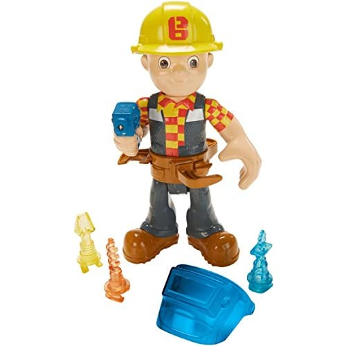 Mattel Ffn17–Bob the Builder Bob Outil