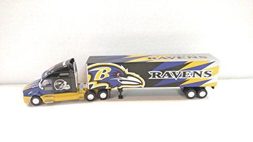 Giant Little Trailer - Baltimore Ravens 2001 Limited Edition Diecast Tractor Trailer