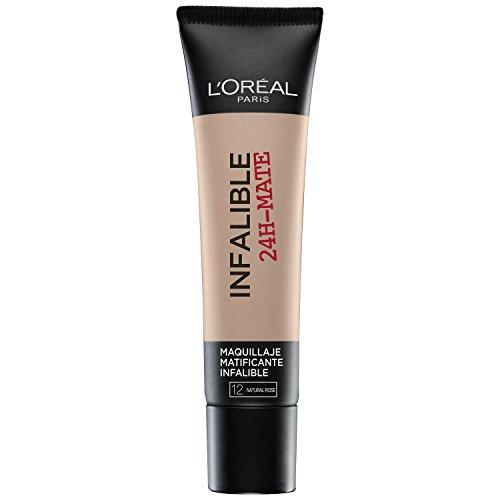 L'ORAL PARIS Base Maquillaje Infalible 24H-Mate L'Oral Paris 12