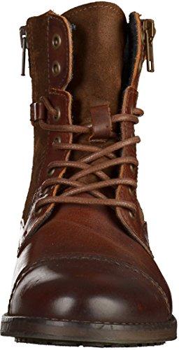 Mustang - botines de caño bajo Mujer marrón