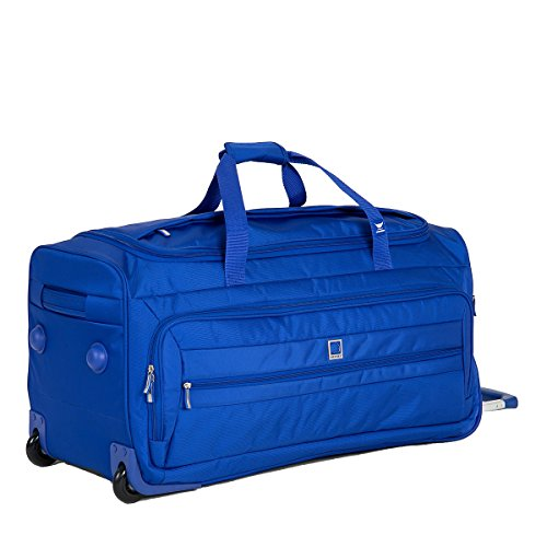 Duffel Delsey Lightweight - Delsey Luggage Helium Hyperlite 28 Inch Trolley Duffel (One Size, Blue)