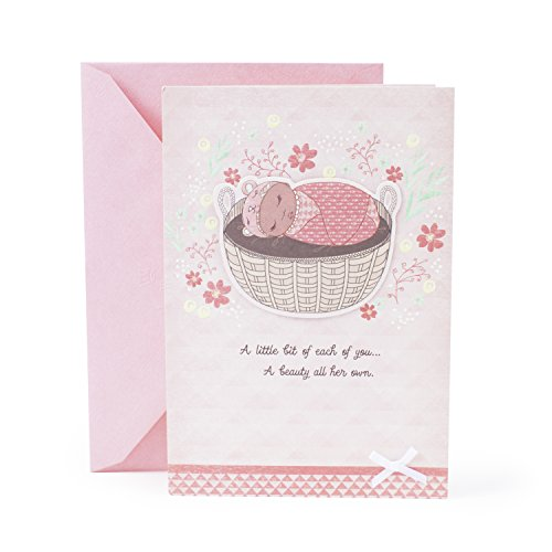 Hallmark Mahogany Baby Shower Card for Baby Girl (Beauty All Her Own)
