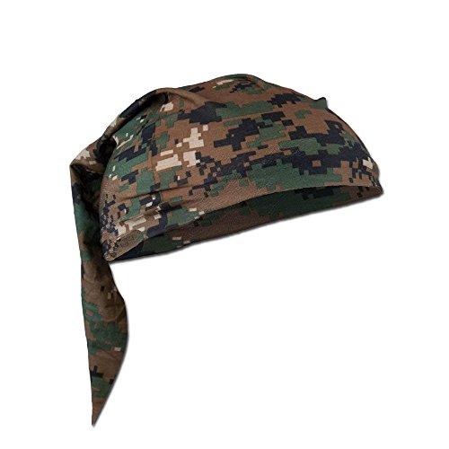 Headbands Woodland Camo - Mil-Tec Multi-functional Headscarf (Digital Woodland)