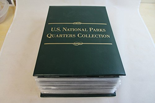 Genuine ~U.S National Parks Quarters Collection Album (CC1650)