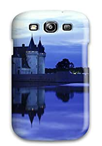 Cheap 4502512K26774144 Tpu Shockproof Scratcheproof Chateau France Hard Case Cover For Galaxy S3