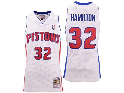 - Mitchell & Ness Richard Rip Hamilton Detroit Pistons Throwback Swingman Jersey (Large)