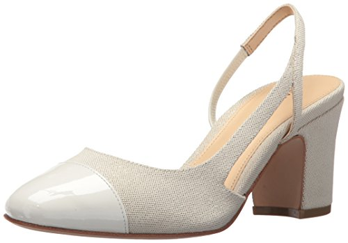 Ivanka Troef Dames Liahashoed Pump White Multi