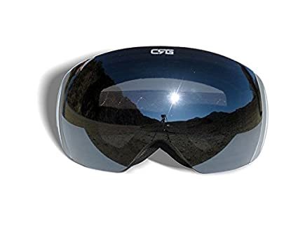 eef6c6517ba7 CRG Sports Ski Goggles- Frameless Snow Goggles for Men   Women - 100% UV