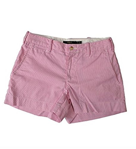Polo Ralph Lauren Womens 3.5in Shorts (10, Pink)