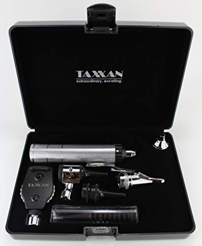 TAXXAN Otoscope Set ENT Diagnostic Set Otoscope Nasal Speculum with Extras