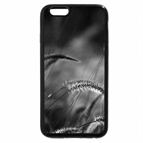 iPhone 6S Case, iPhone 6 Case (Black & White) - Grass