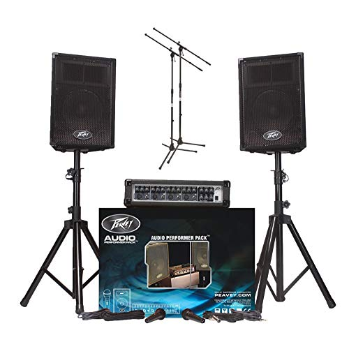 Peavey Audio Performer Pack with 2 Microphone Stands